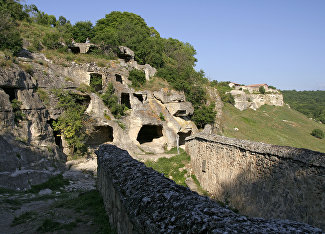 Chufut-Kale cave city-fortress