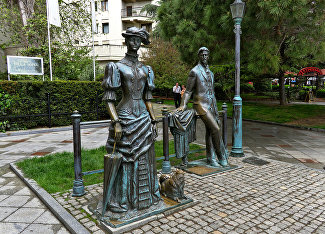The Lady with the Dog and Chekhov Monument