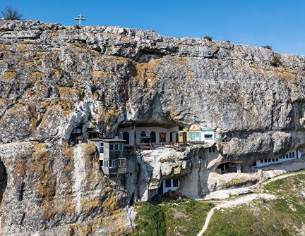 Lost in the mountains: Crimean cave monasteries