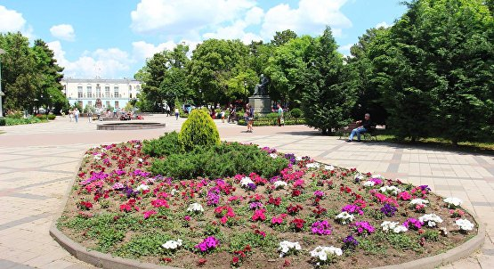 The Park named after trenev in Simferopol