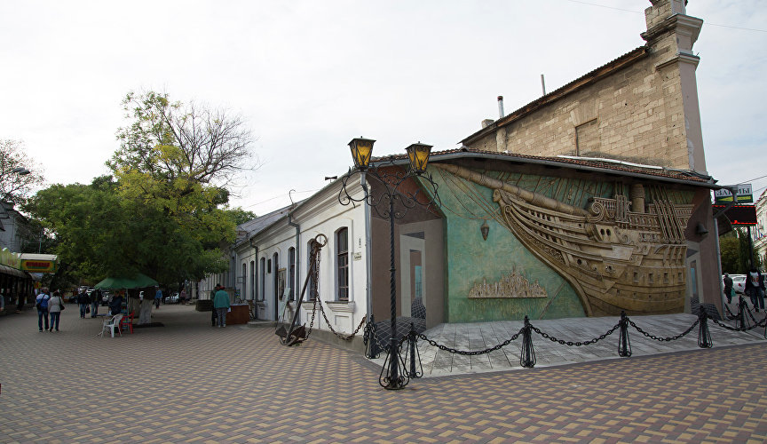 Green Museum in Feodosia