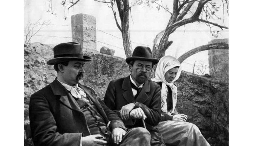 Dmitry Mamin-Sibiryak and Anton Chekhov, 1900s