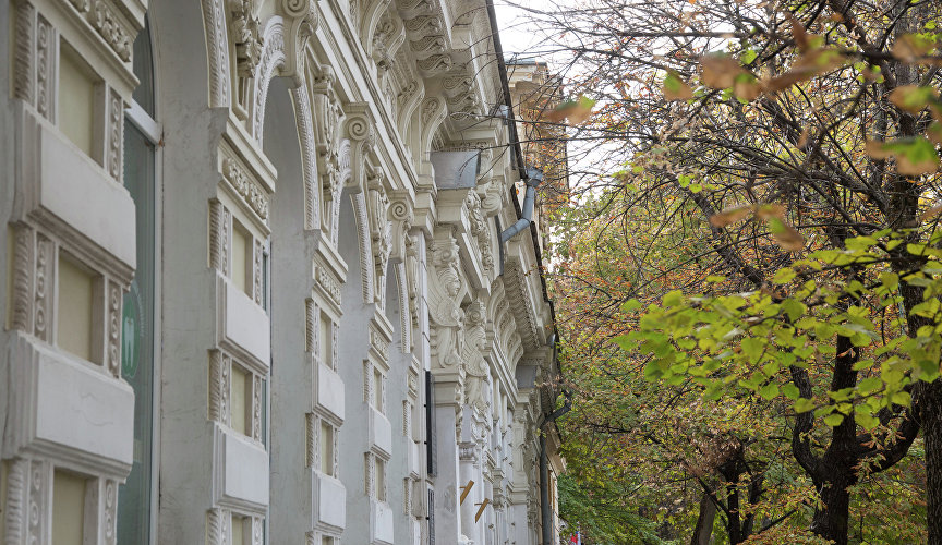 Historical buildings of Simferopol