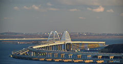 View of the Crimean bridge