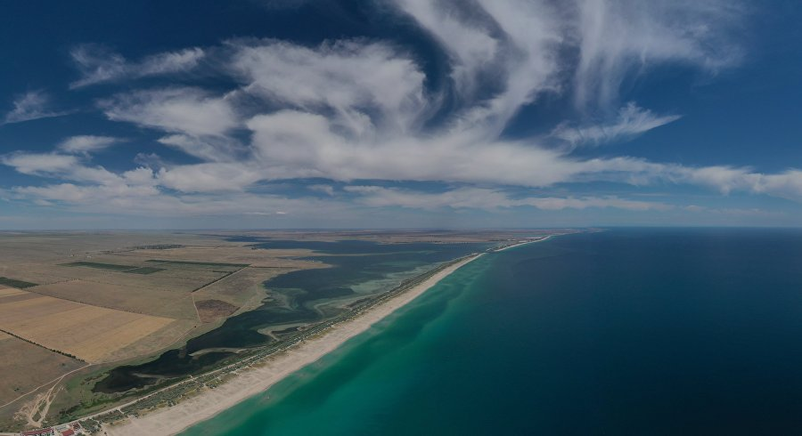 View of the Belyaus Spit