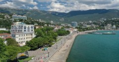 View of the Yalta embankmen
