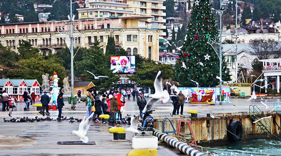 New Year in Yalta