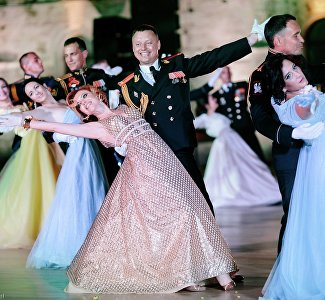 8th International Officers' Big Ball in Sevastopol, June 20